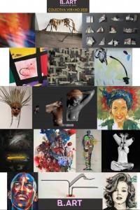 B.ART summer collective 2020- invitation