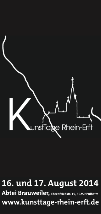 Invitación Kunsttage Rhein Erft 2014 - Colonia/Alemania
