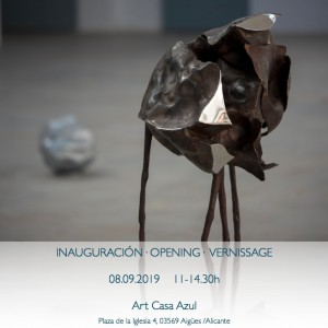 Invitation Exhibition Hans Some @ArtCasaAzul, Spain, 2019