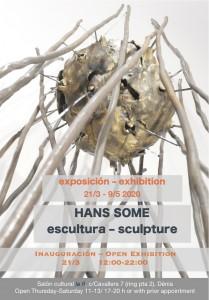 Invitation Solo Exhibition Hans Some @ Salon Cultural La ñ - Dénia/Spain, 2020